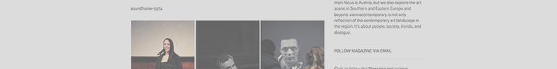 Transparency WordPress2013 Vienna Contemporary soundframe Opening 800x100 copy